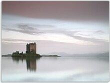 Wallario Schneidbrett Schloss in Schottland,