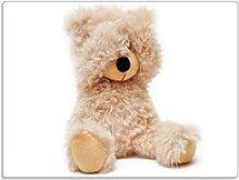 Wallario Schneidbrett Süßer Teddybär, ESG-Glas,