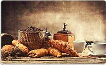 Wallario Stilvolles Frühstücksbrettchen aus