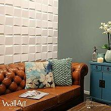 WallArt 3D-Wandpaneele 3D Wandplatten Wand Decke