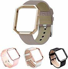 Wallfire Echtes Leder Uhr ersatz Band Armband