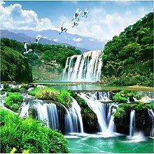wallmuralthree 3 D Tapete 3D Wasserfall Schöne
