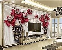 wallmuralthree 3D Tapete 3D Wohnzimmer