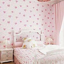 wallmuralthree 3D Tapete Kinderzimmer Rosa