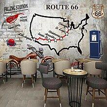 WALLPACL Fototapete Tapete 3D Highway Zement Wand