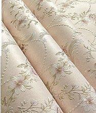 wallpaper/3d Anaglyphen Stereo-Garten Tapete/Warme Schlafzimmer Wohnzimmer Tapete/Speisesaal voller Vliestapete-B