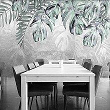 Wallpaper 3D Tapete Pflanze Blätter Foto Wandbild