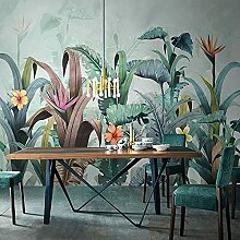 Wallpaper 3D Wallpaper Nordic Tropische Pflanze