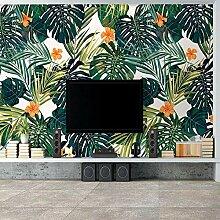 Wallpaper 3D Wallpaper Tropische Pflanze Blätter