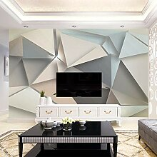 Wallpaper 3D Wandbild Geprägte Dreieckslandschaft