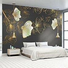 Wallpaper 3D Wandbild Helle Blumenlandschaft Vlies