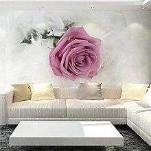 Wallpaper 3D Wandbild Rote Blühende