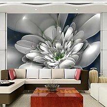 Wallpaper 3D Wandbild Schöne Blumen Blühen Vlies
