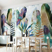 Wallpaper 3D Wandbild Tapete Nordic Tropische