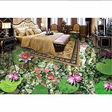 Wallpaper 3D werbung 3d Bodenbelag anpassen Lotus