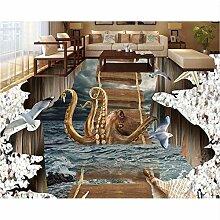Wallpaper 3D werbung 3D Bodenbelag Anpassen PVC