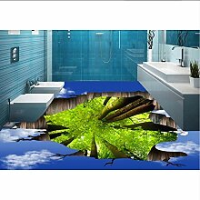 Wallpaper 3D werbung Blauer Himmel Baum 3d