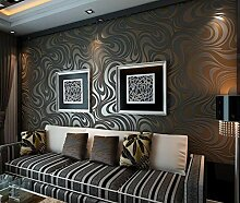 Wallpaper abstrakte linien beflockung besprüht