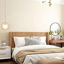 Wallpaper Beige Moderne Solid Color einfache