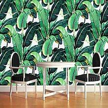 Wallpaper Europäischen Stil Retro Tropischer