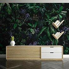 Wallpaper Fototapete 3D Grüne Pflanze Blätter