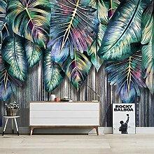 Wallpaper Fototapete 3D Kreative Tropische Pflanze