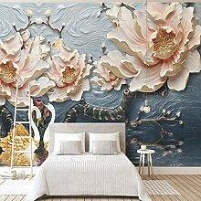 Wallpaper Fototapete Blumen Vliestapete 3D Tapete