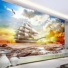 Wallpaper Fototapete Segelschiff Vliestapete 3D