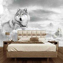 Wallpaper Fototapete Tierwolf Vliestapete 3D