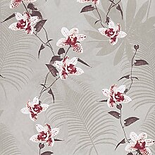 wallpaper/Garten Blumen Bett Restaurant Hintergrund/Vliestapete-A
