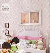 Wallpaper Kind Cubs Tapete nicht gesponnene Wand-Tapete Ton-absorbierendes schönes Wohnzimmer Schlafzimmerwandbekleidung Rolle nicht selbstklebend (Notwendigkeit, einen anderen Kleber zu kaufen) , 2
