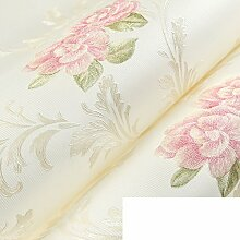 wallpaper/Koreanische ländlichen Vliestapete/Wohnzimmer Schlafzimmer Tapeten/romantische kleine florale Tapete/3D Stereo-Wand-B