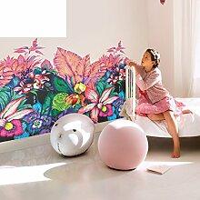 wallpaper/Kunstlosen Garten Blume Vlies Tapete/Umweltschutz Kinder Zimmer Tapete-A