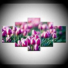 Wallpaper M 5 Stück ungerahmt Bedruckte