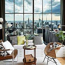Wallpaper New York City Gebäude Fenster