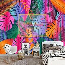 Wallpaper Tapete 3D Schöne Aquarell Tropische