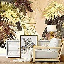 Wallpaper Wandbild Tapete 3D Tropische Pflanze