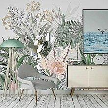 Wallpaper Wandbild Tapete Nordic Handgemalte