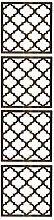 Wallpops wpp2077Marrakech Room Elementen Aufkleber–weiß/creme