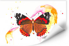 Wallprints - Wallprint Buttafly - Vanessa Athalanta