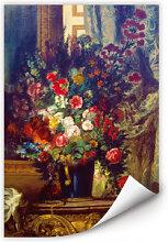 Wallprints - Wallprint Delacroix - Vase mit Blumen