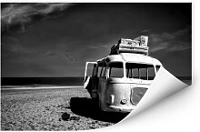 Wallprints - Wallprint Depaepe - Beached Bus