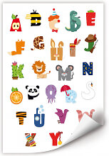 Wallprints - Wallprint Kinder Alphabet