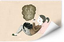 Wallprints - Wallprint Loske - Cats & Coffee