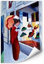 Wallprints - Wallprint Macke - Frau mit