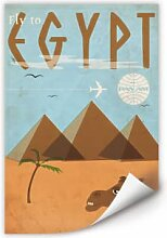 Wallprints - Wallprint PAN AM - Fly to Egypt