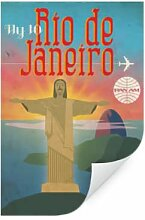 Wallprints - Wallprint Pan Am - Fly to Rio de