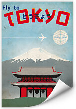 Wallprints - Wallprint PAN AM - Fly to Tokyo