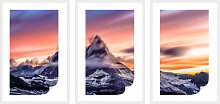 Wallprints - Wallprint-Set + Zierleisten Top of