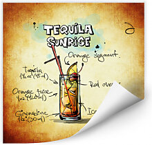Wallprints - Wallprint Tequila Sunrise - Rezept